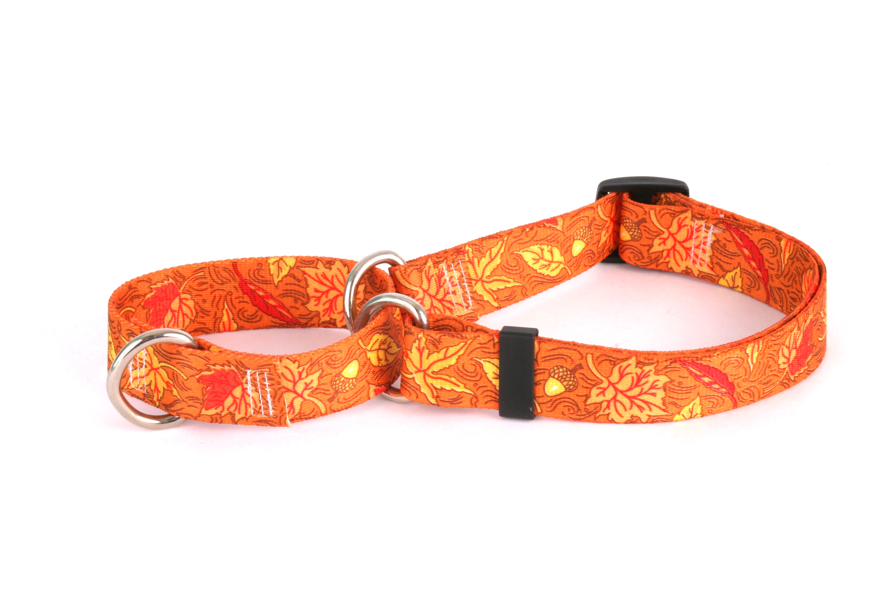 Fall Leaves Martingale Collar