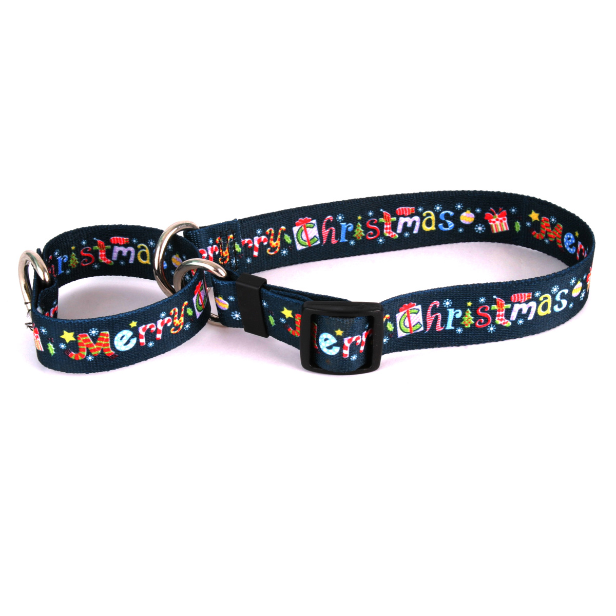Merry Christmas Martingale Collar