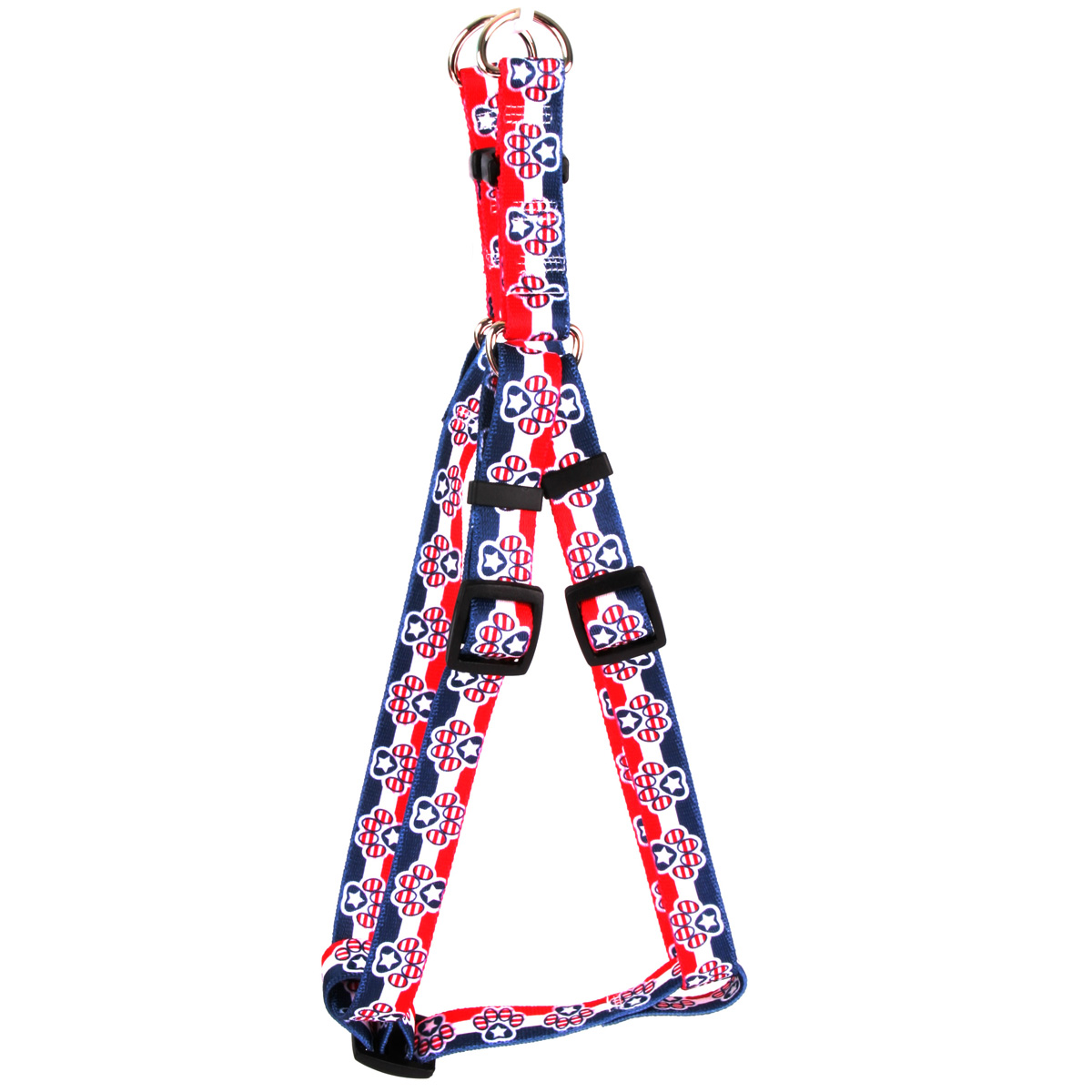 Patriotic Paws Step-In Harness