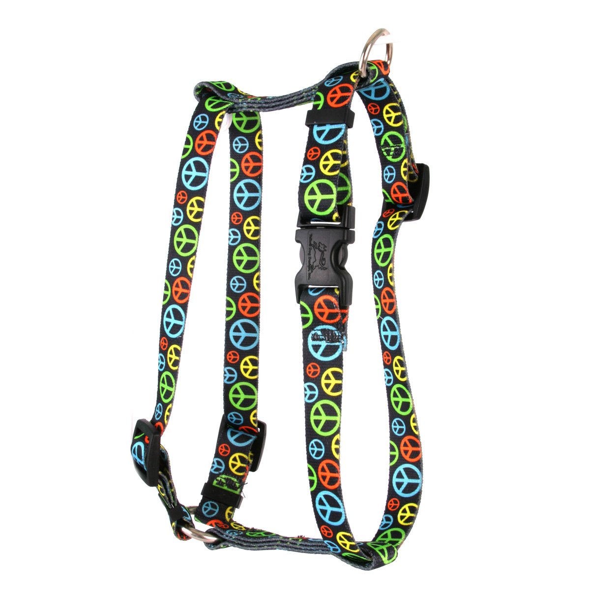Neon Peace Signs Roman H Harness