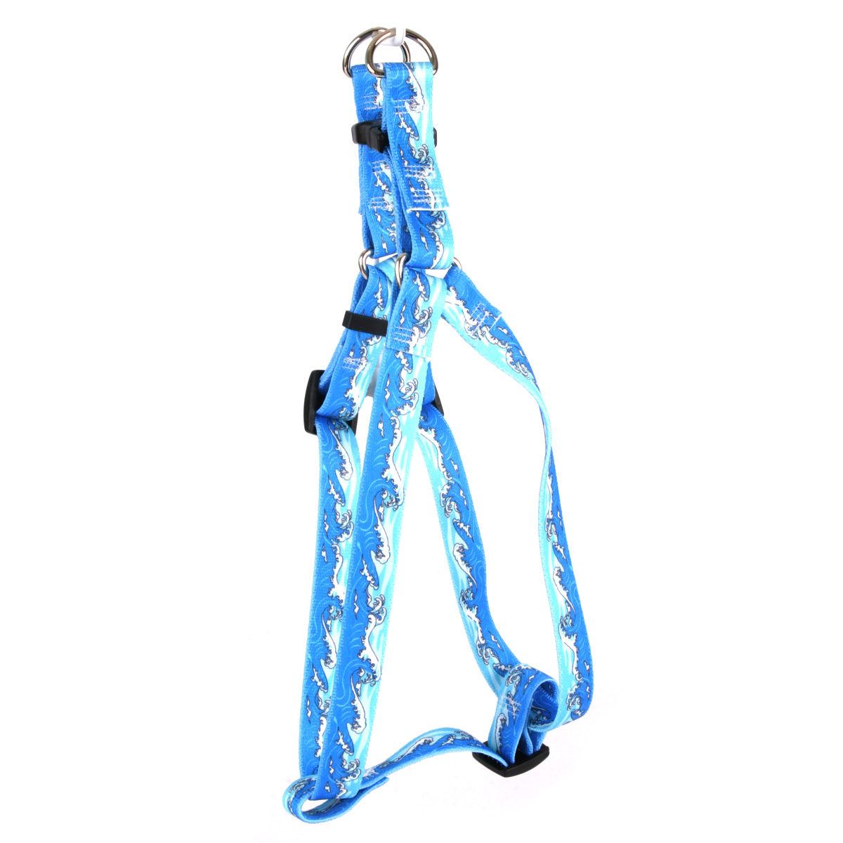 Mystic Waves Blue Step-In Harness