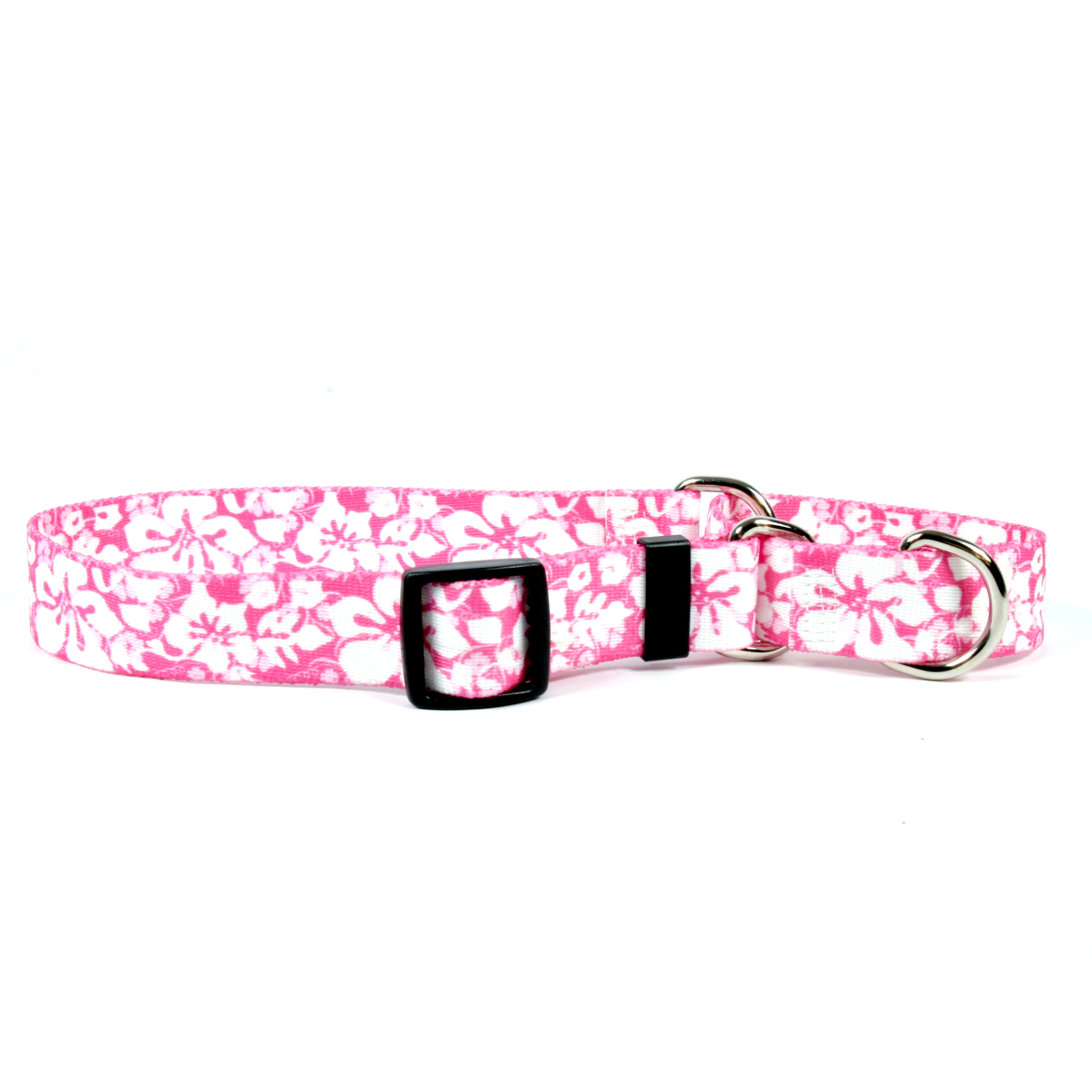 Island Floral Pink Martingale Collar