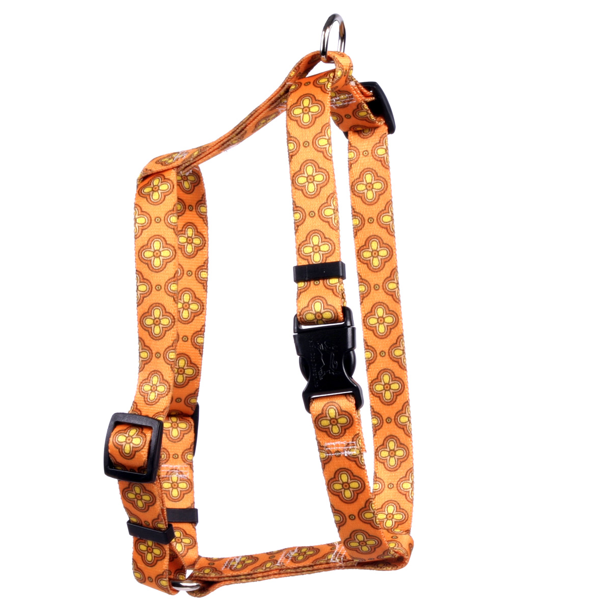 Cleo Orange Roman H Harness