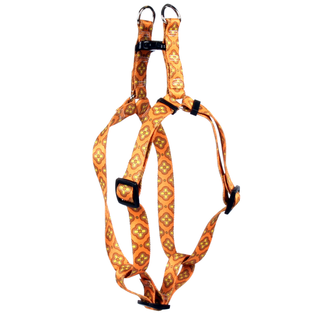Cleo Orange Step-In Harness