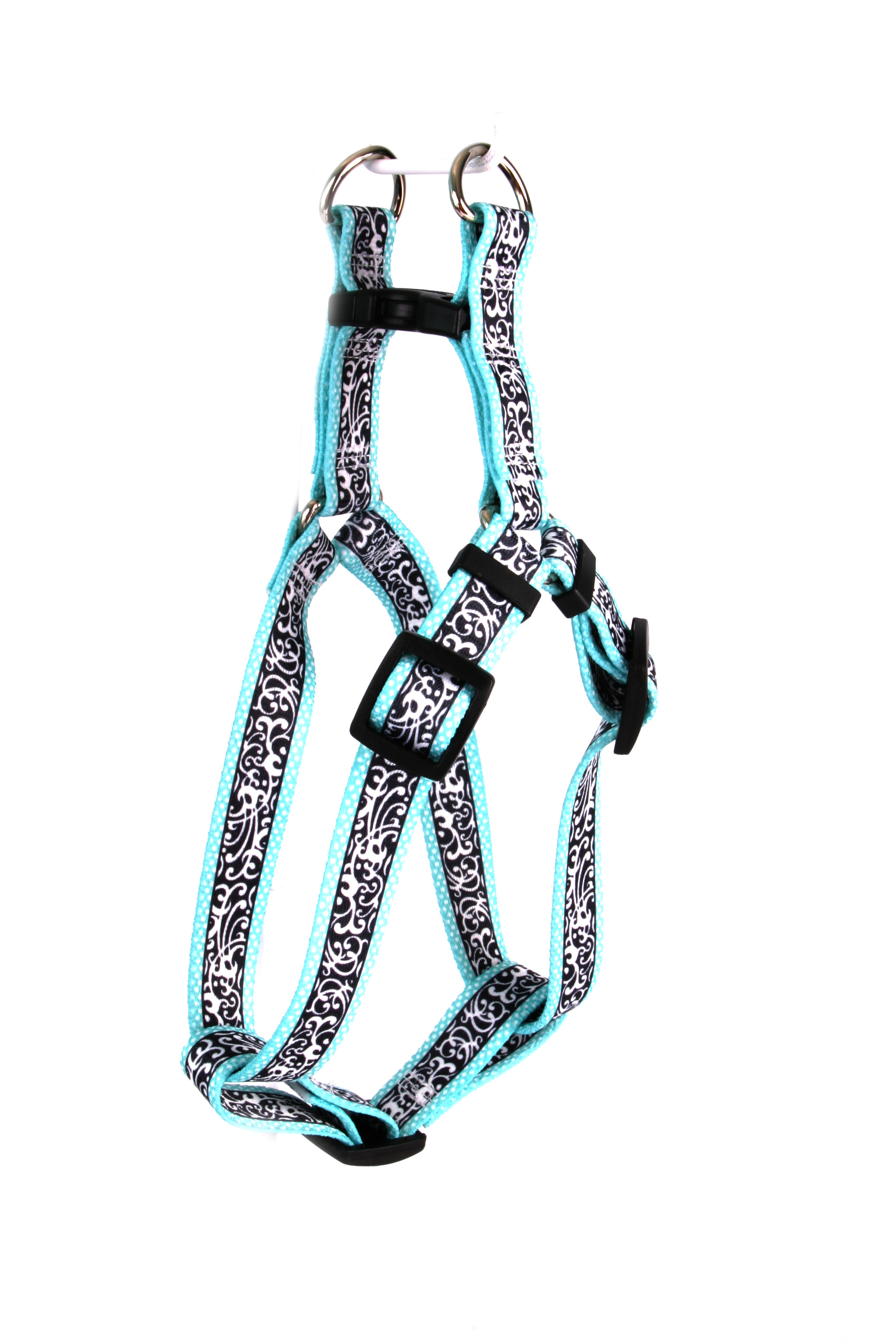 Chantilly Teal Step-In Harness