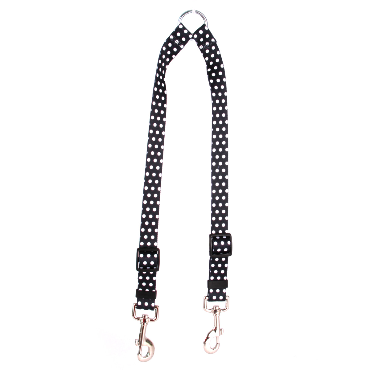 Black Polka Dot Coupler Lead