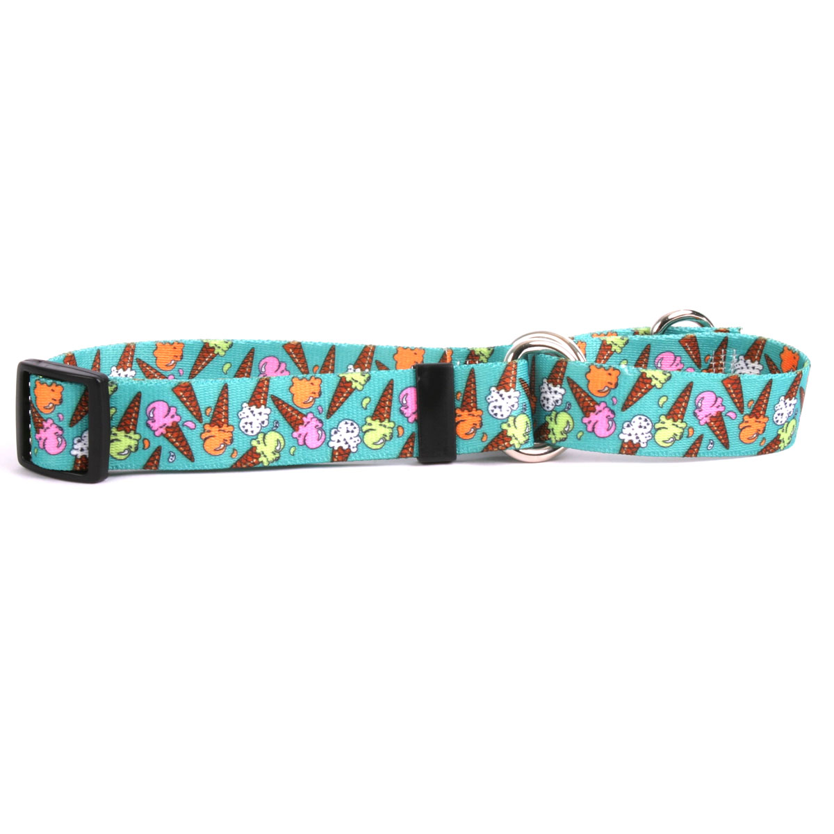 Ice Cream Cones Martingale Collar