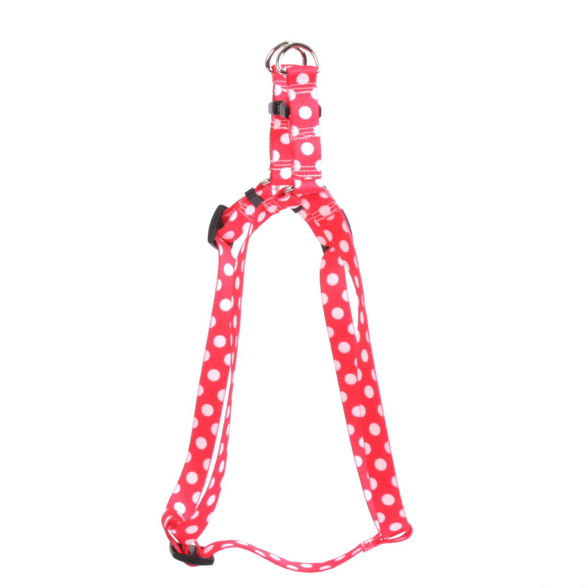 Strawberry Polka Dot Step-In Harness