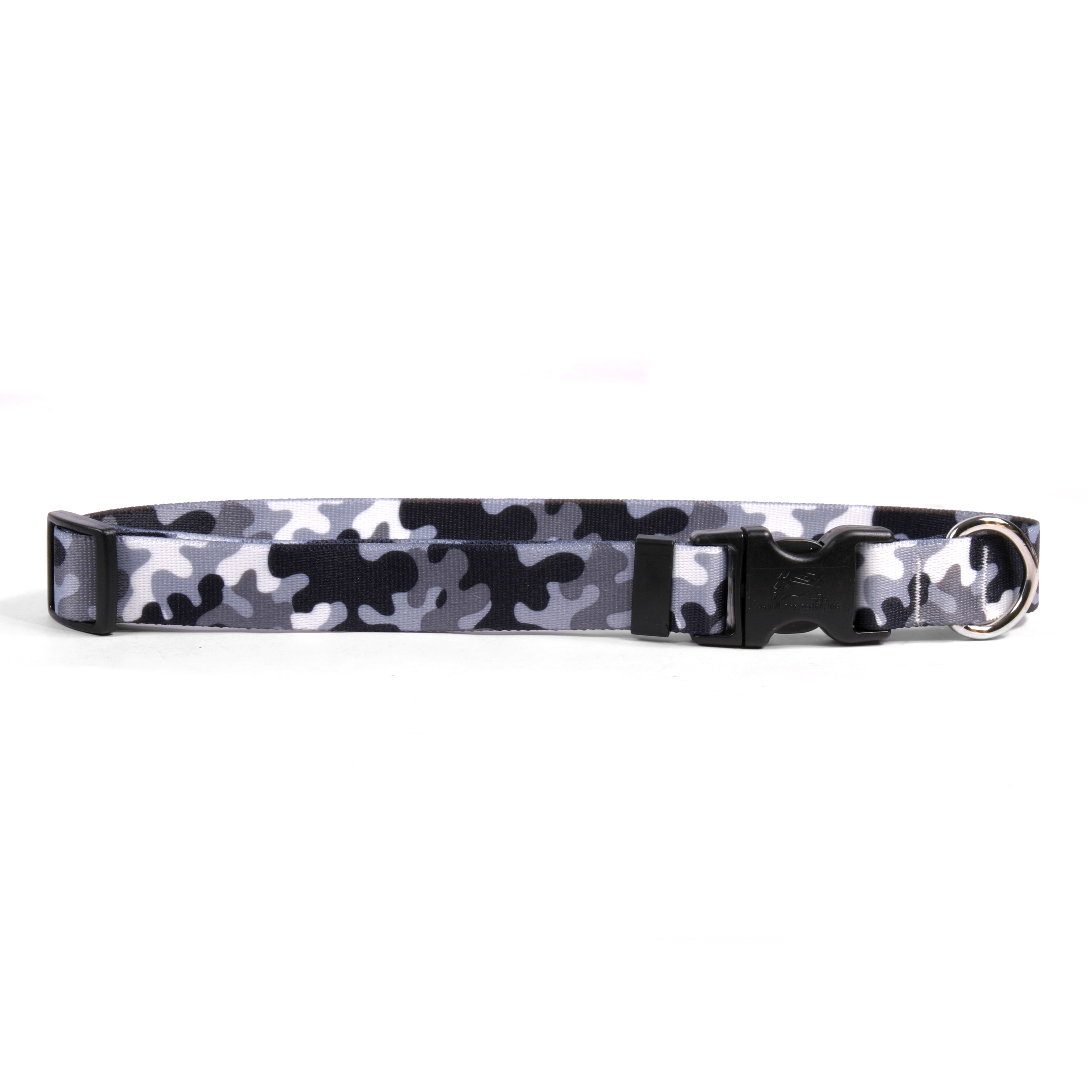 Black and White Camo Standard Collar