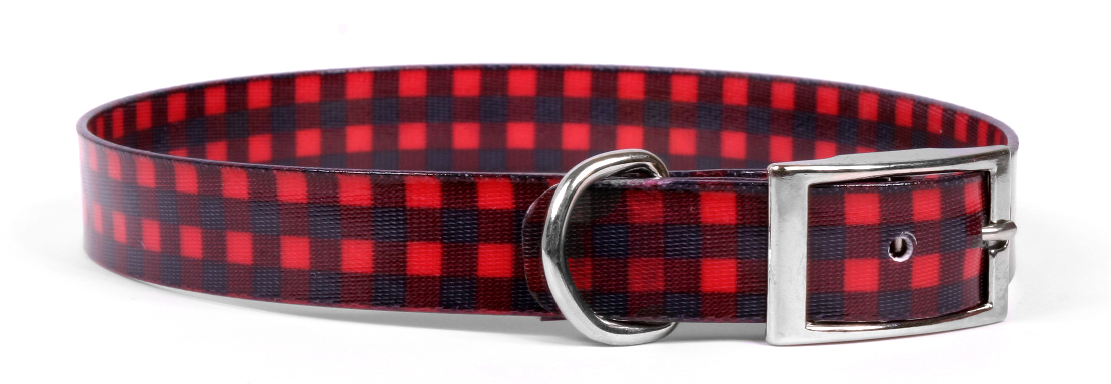 Buffalo Plaid Red Elements Collar