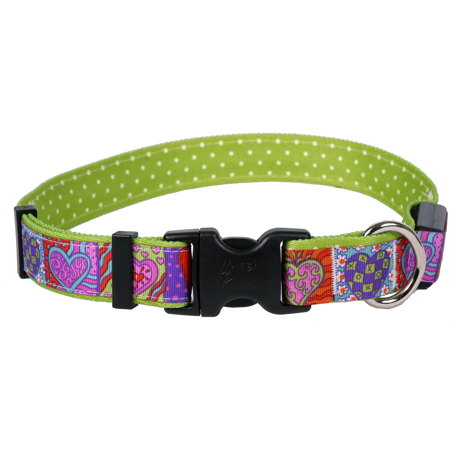 Crazy Hearts ORION LED Dog Collar
