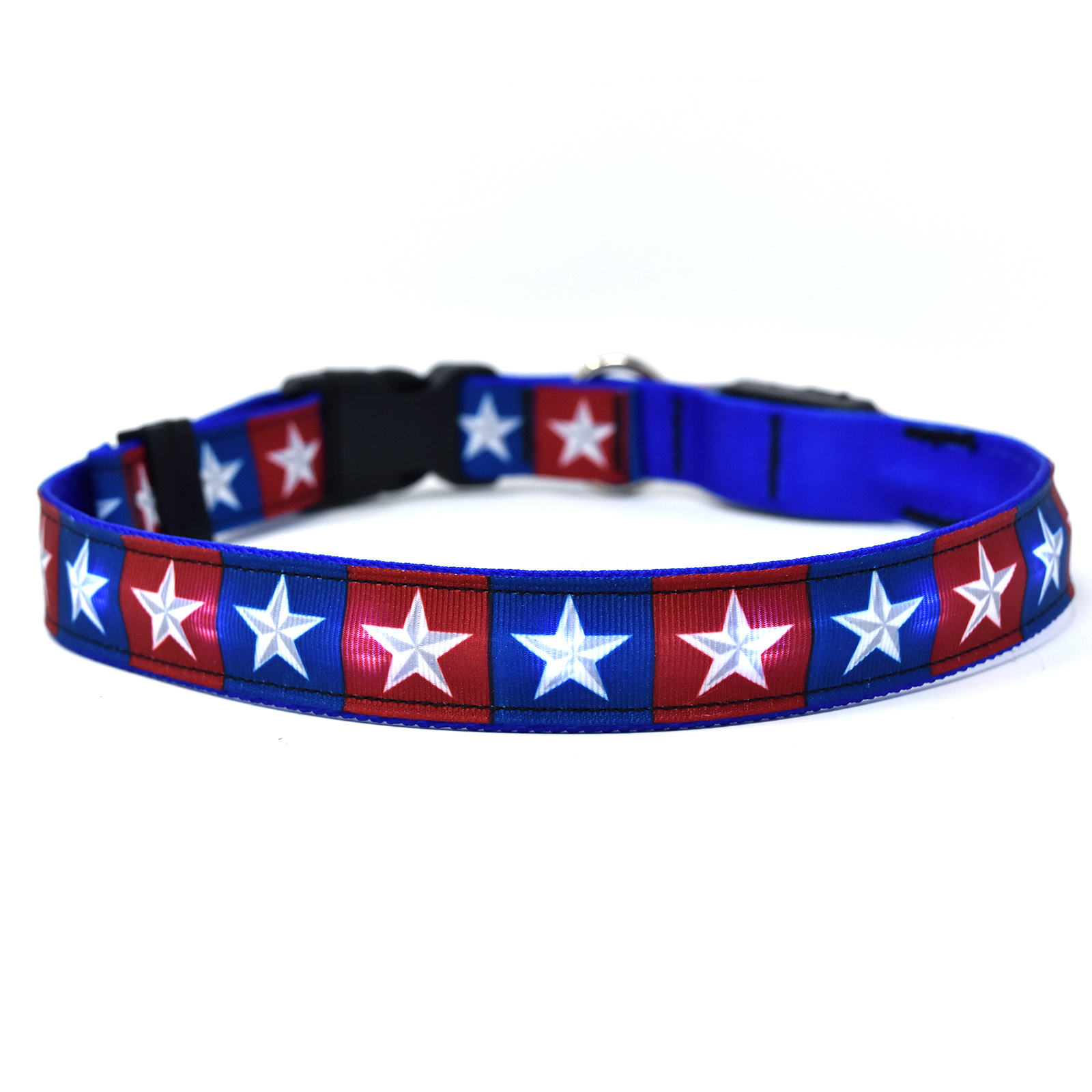 Colonial Stars ORION LED Dog Collar