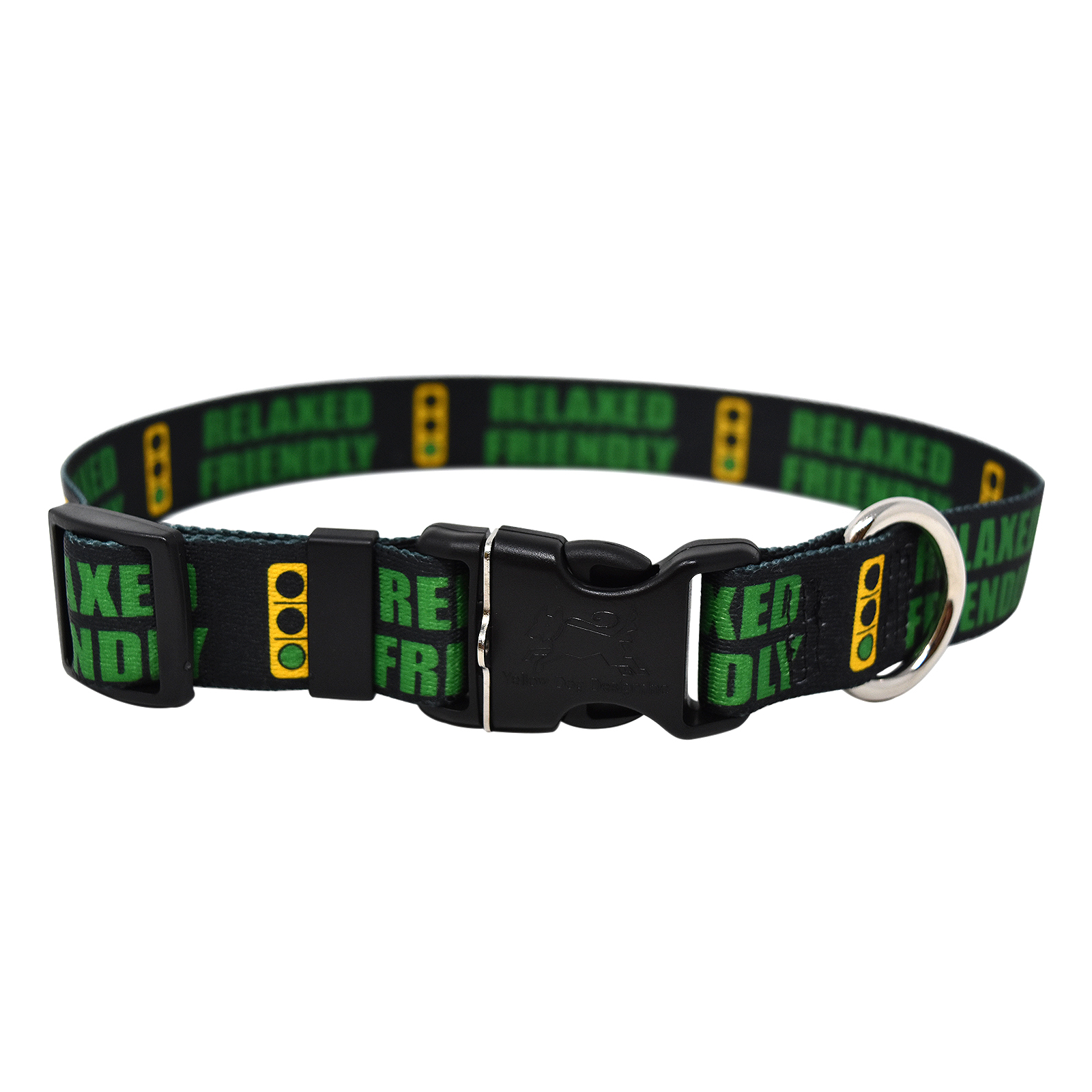 Caution Relaxed Friendly Light Standard Collar