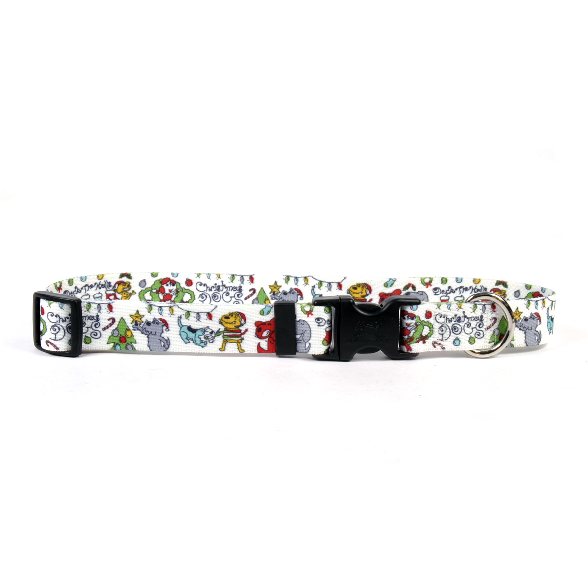 Christmas Dogs Standard Collar