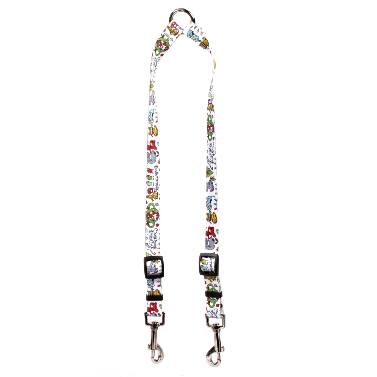 Christmas Dogs Coupler Lead