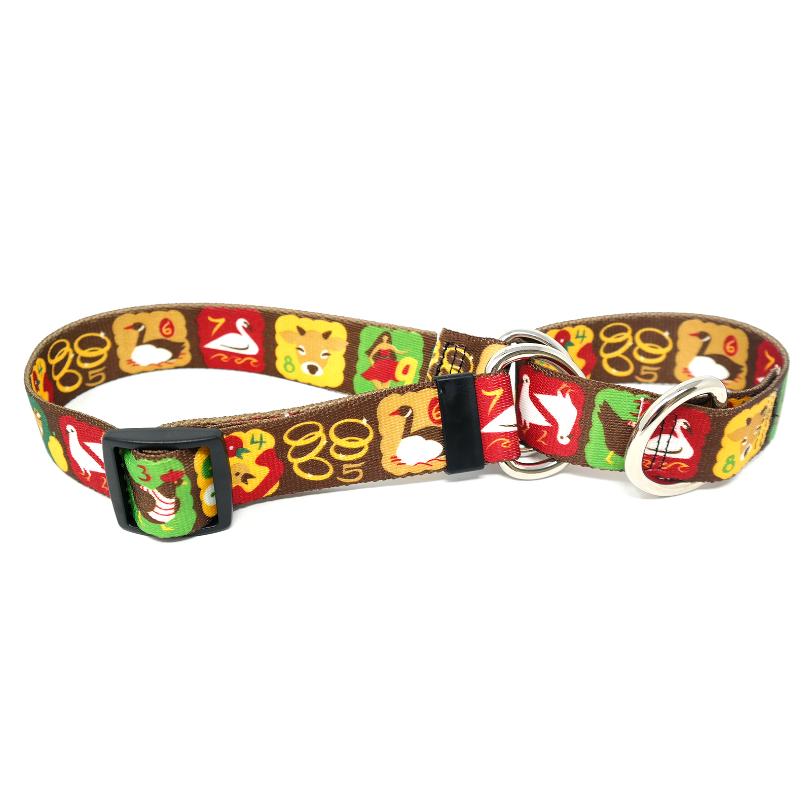 Twelve Days of Christmas  Martingale Collar