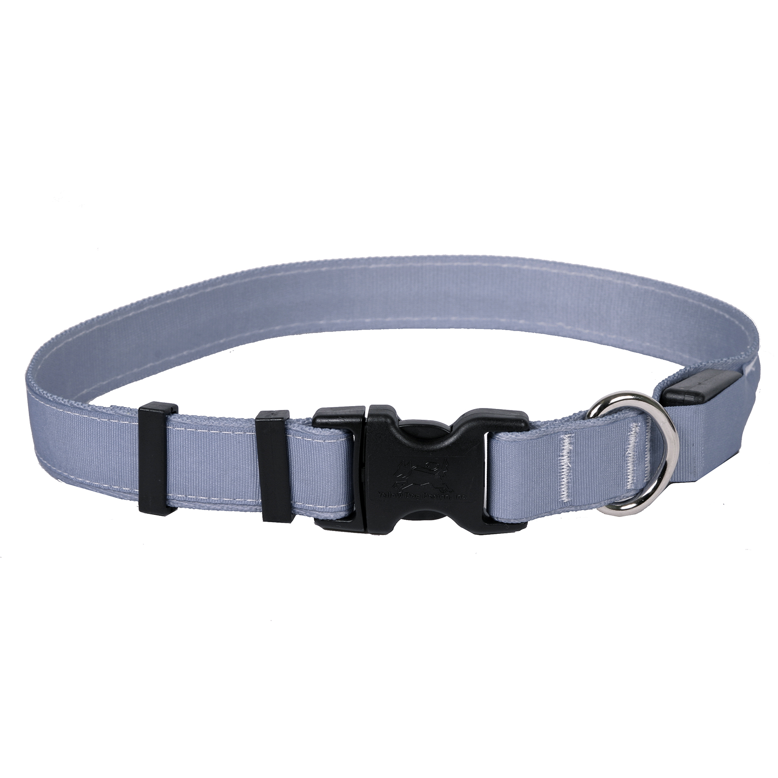 Solid Gray ORION LED Dog Collar