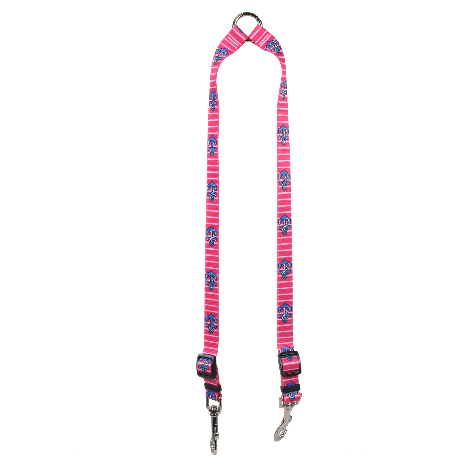 Anchors on Pink Stripes Coupler Lead