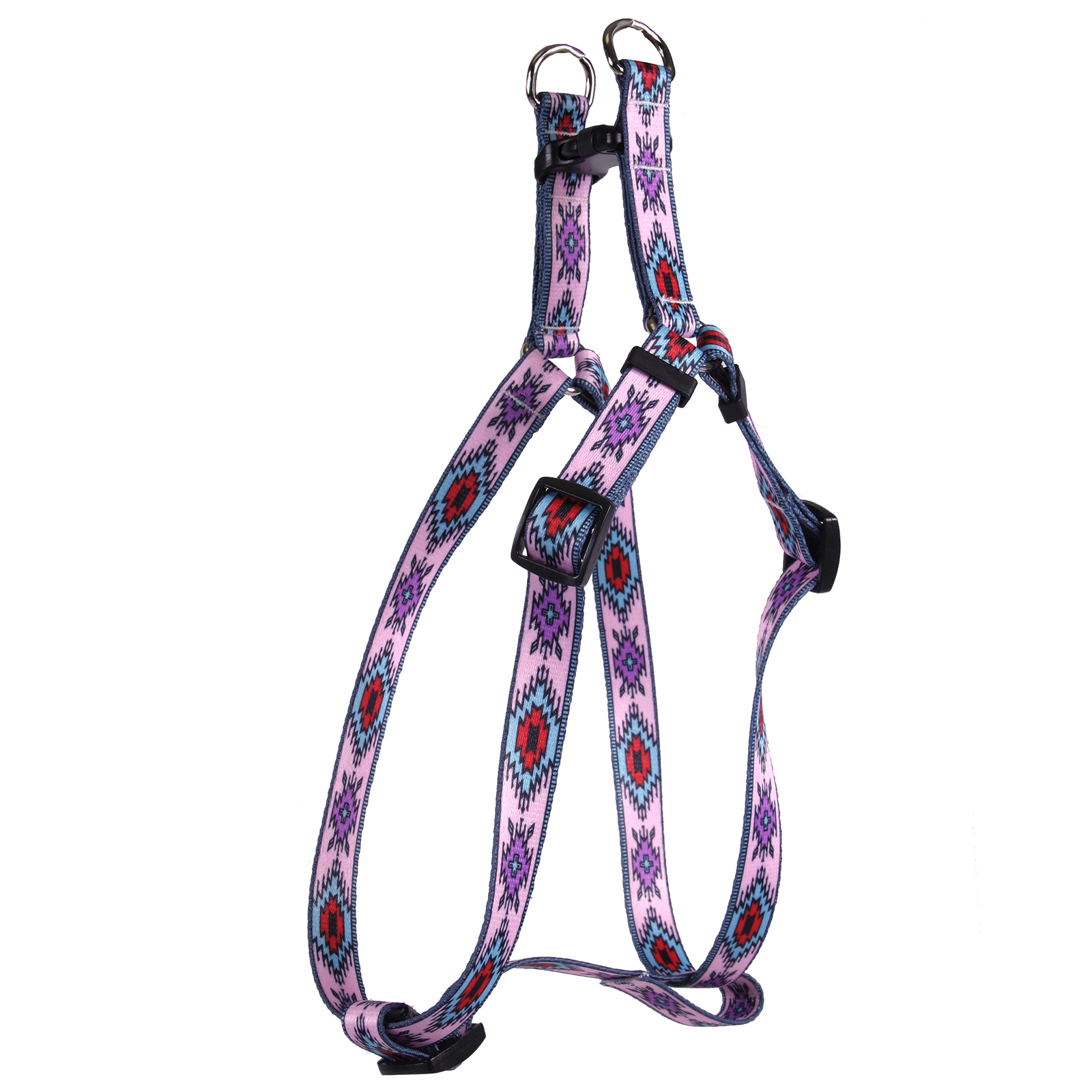 Indian Spirit Pink Step-In Harness