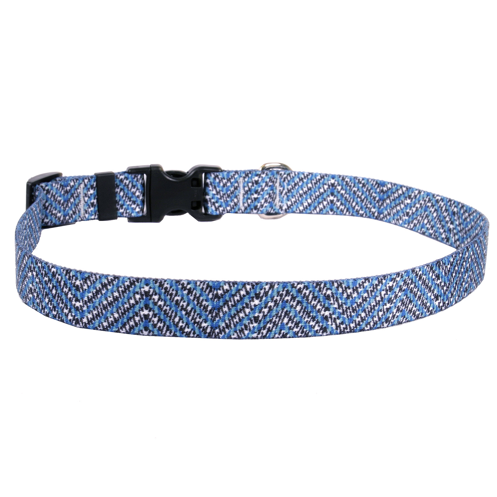 Blue Tweed Standard Collar