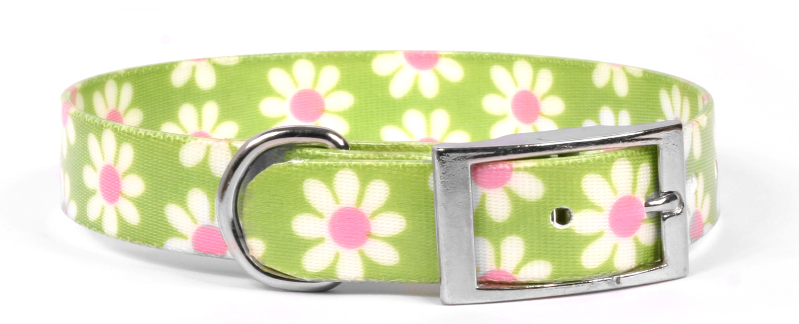 Green Daisy Elements Collar