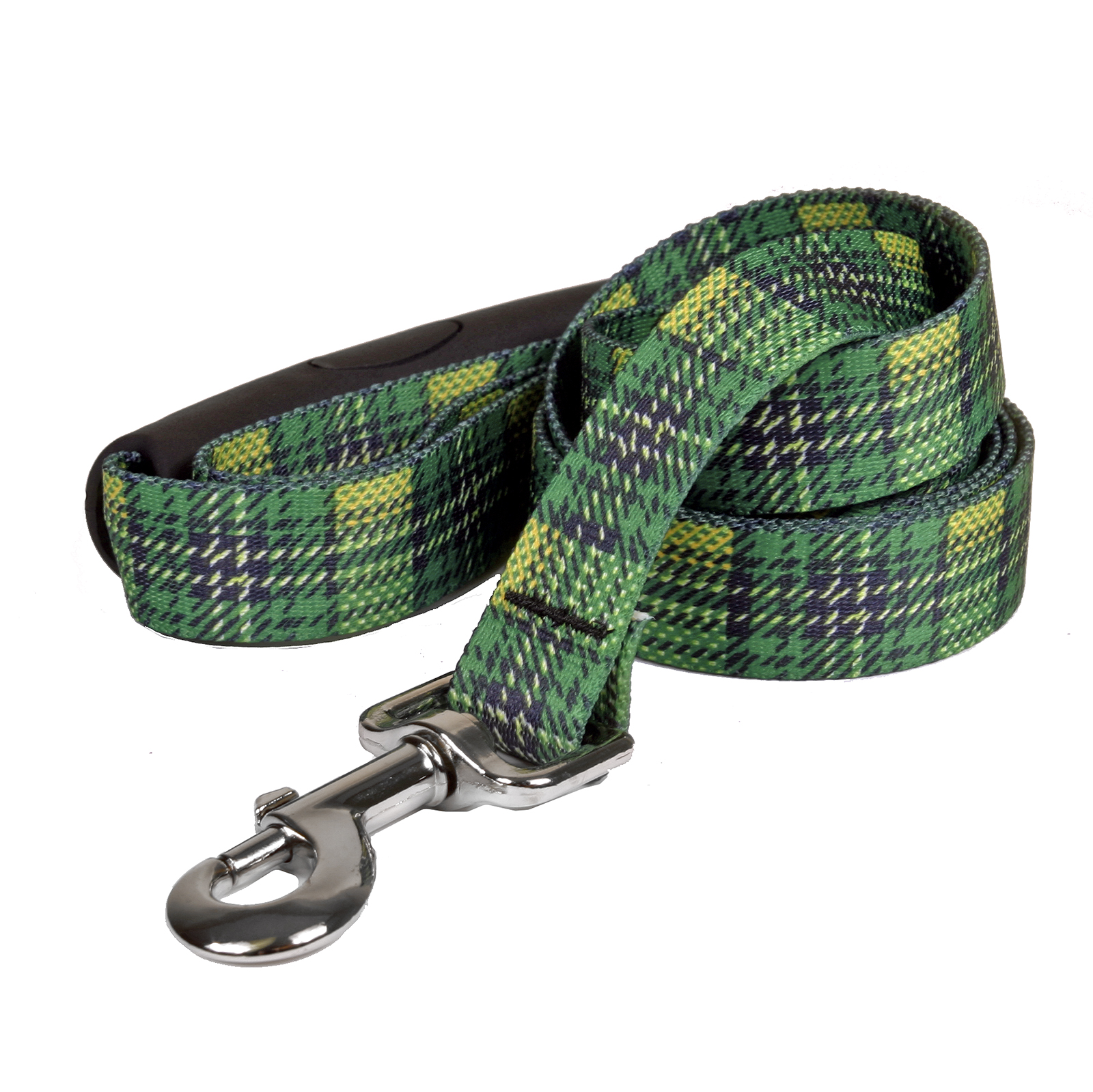Highland Plaid Green and Gold EZ-Lead