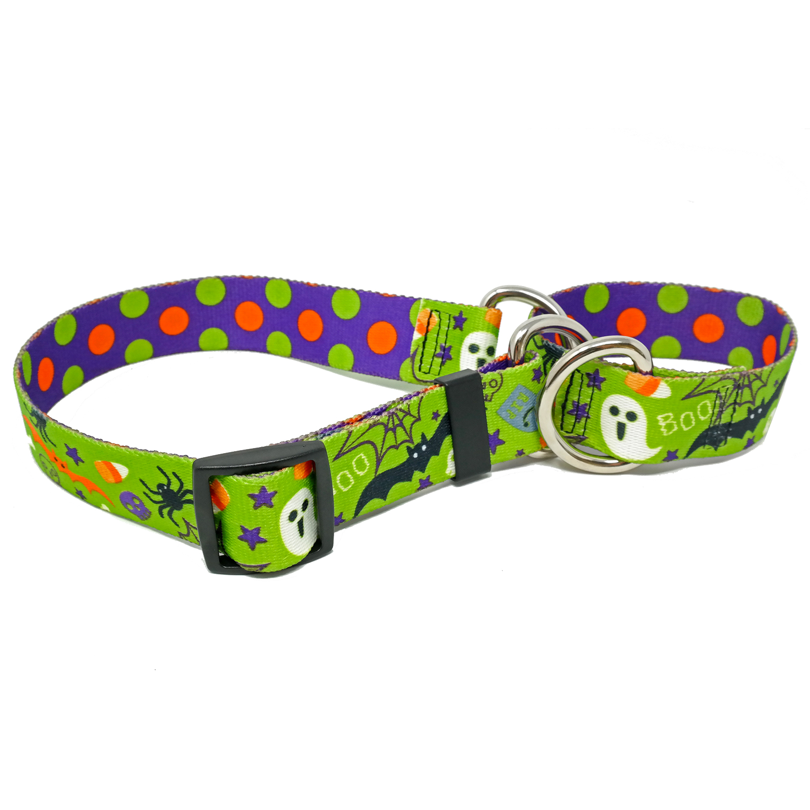 Halloween Mix Martingale Collar