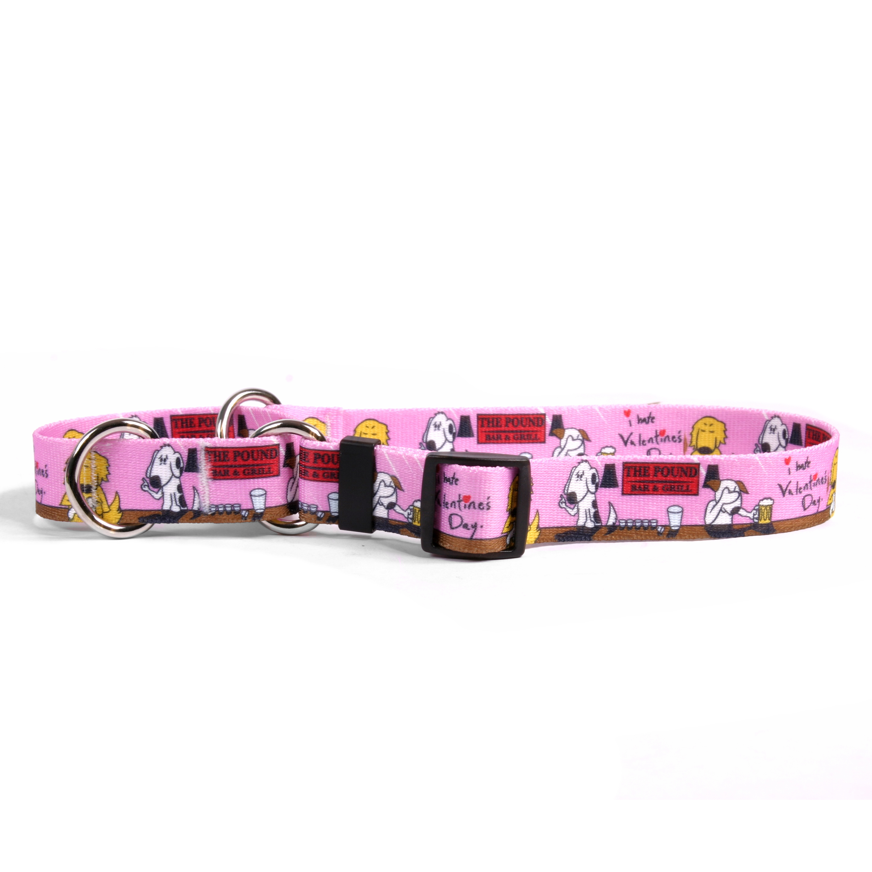 I Hate Valentines Day Martingale Collar