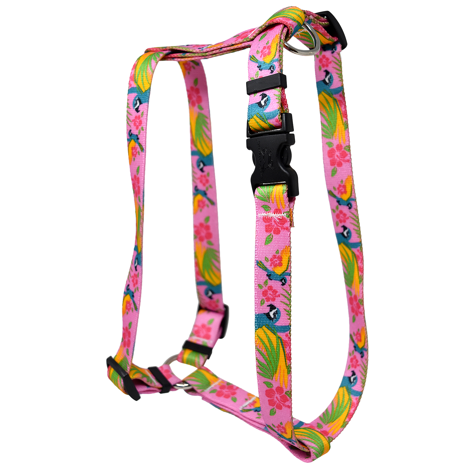 Macaw Pink  Roman H Harness