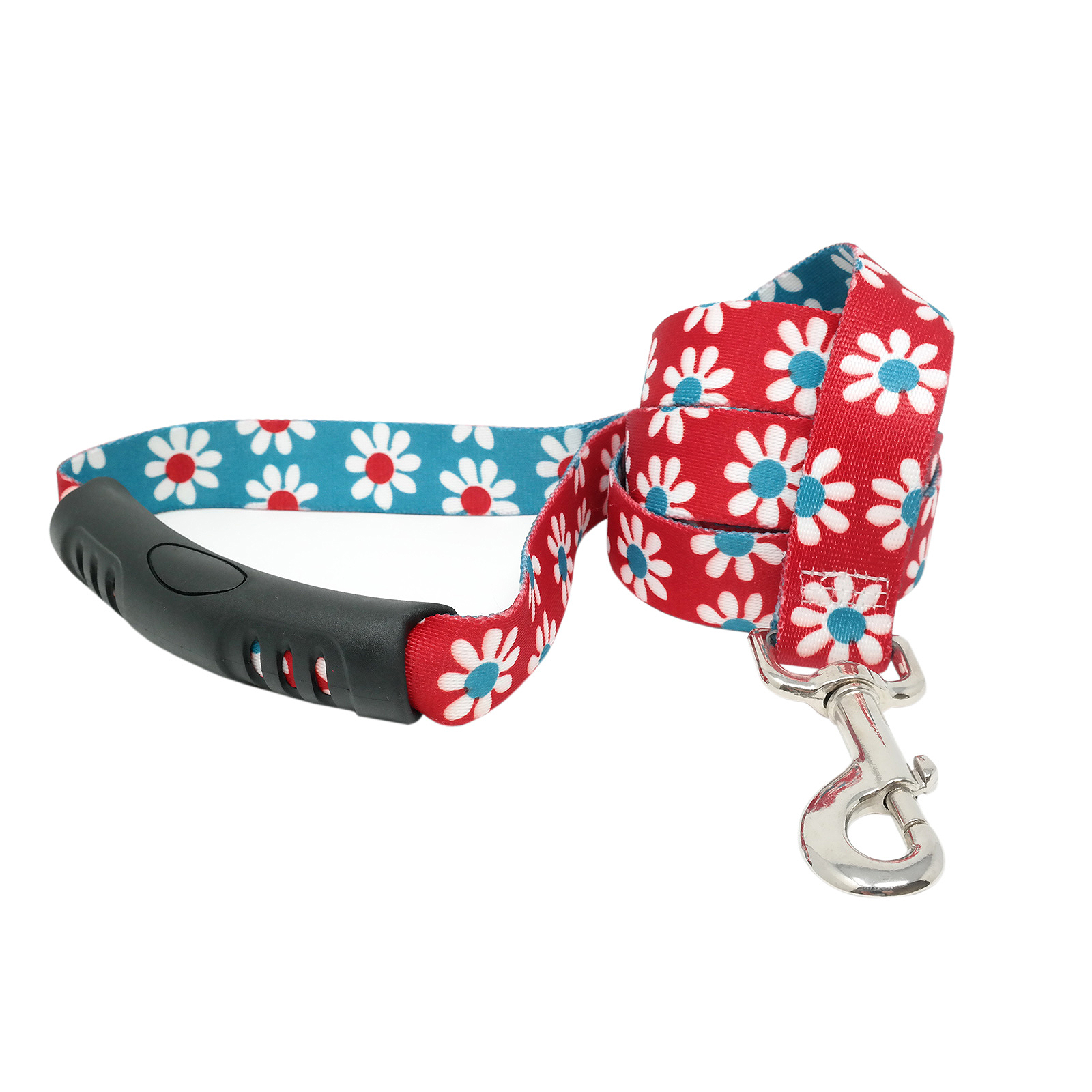 Red & Teal Daisy EZ-Lead
