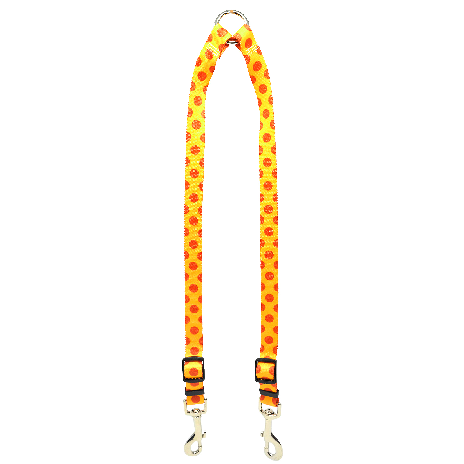 Goldenrod & Orange Polka Coupler Lead
