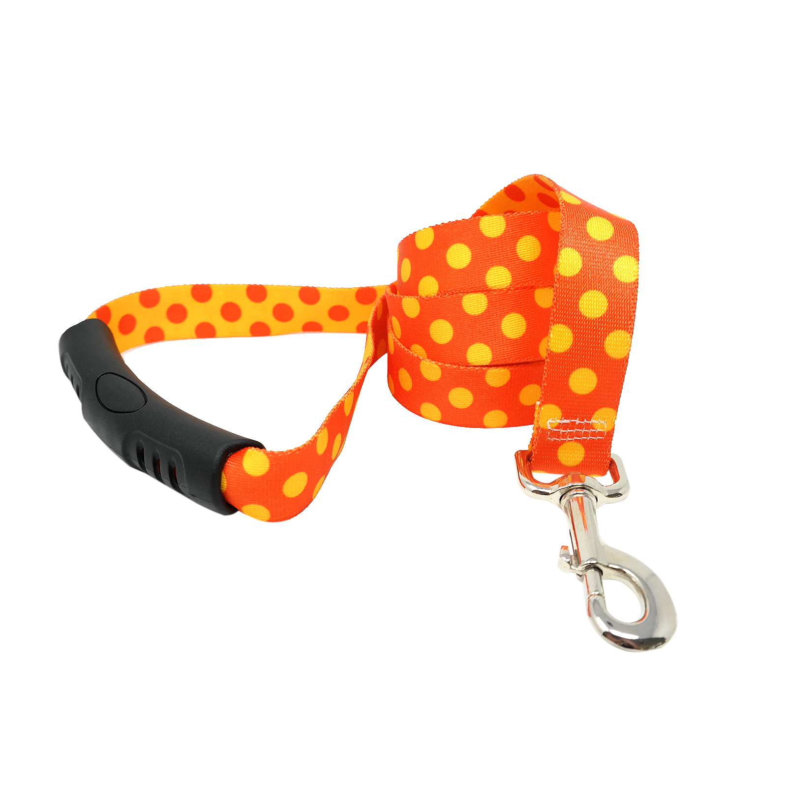 Orange & Goldenrod Polka EZ-Lead