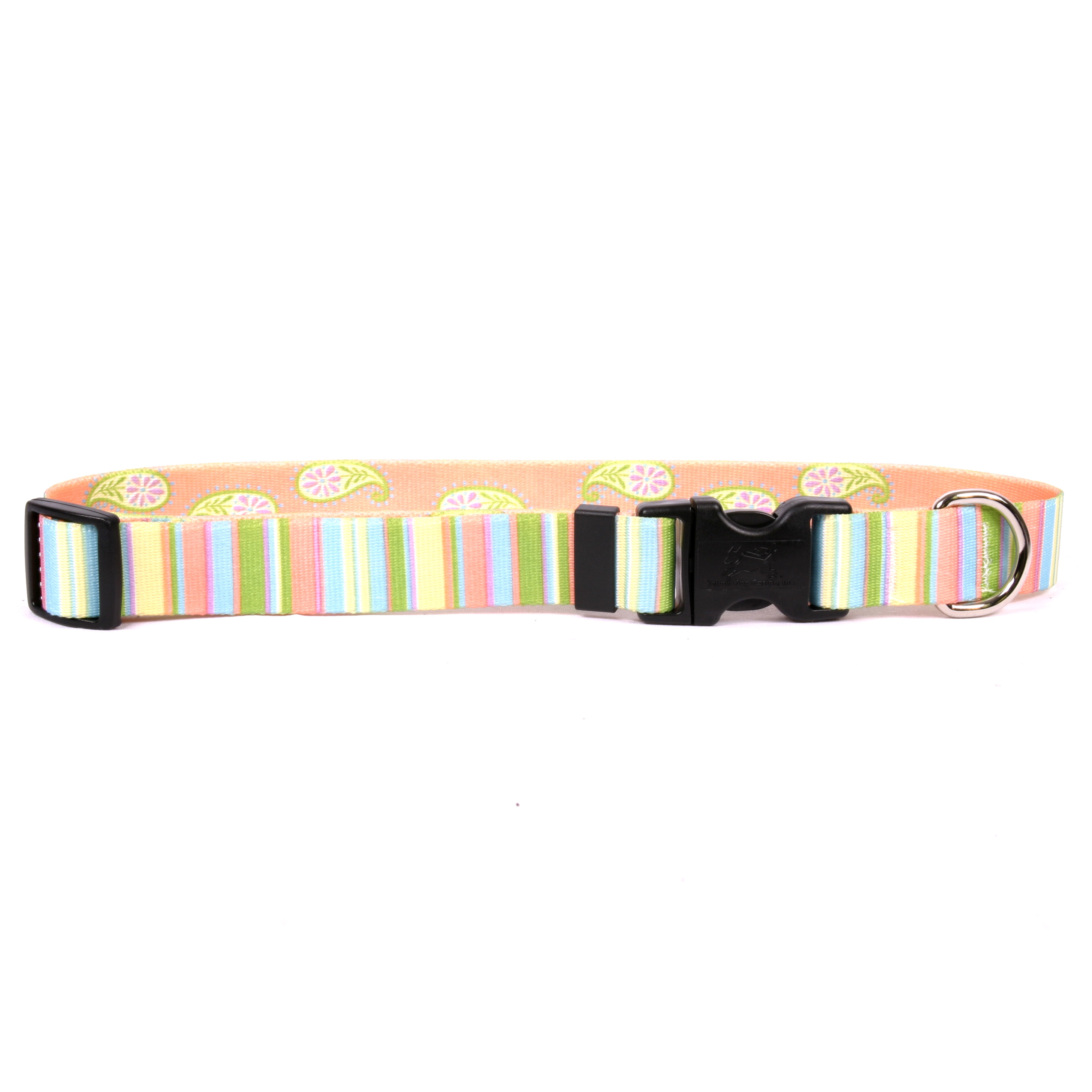 Melon Stripes Standard Collar