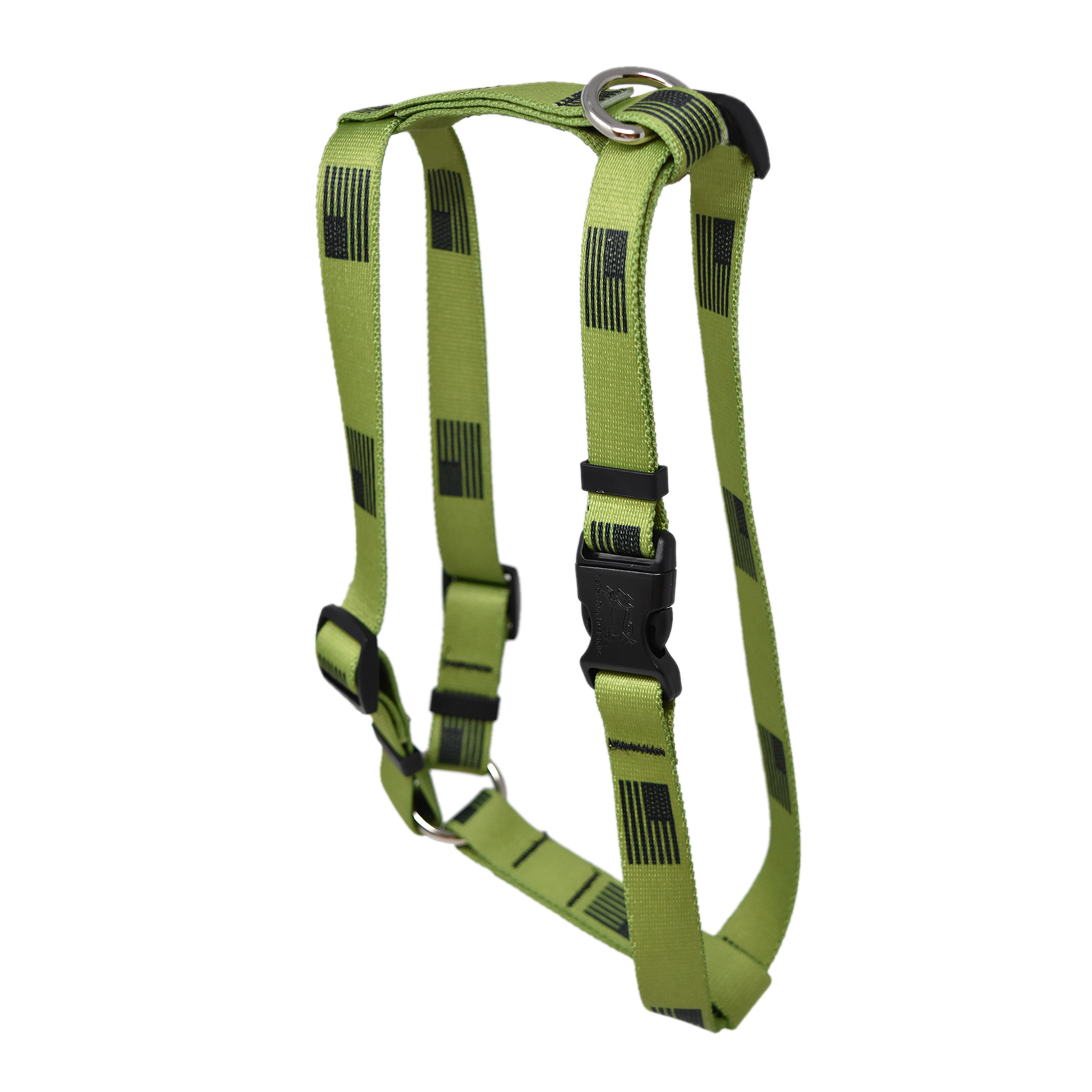 Olive Flag Roman H Harness