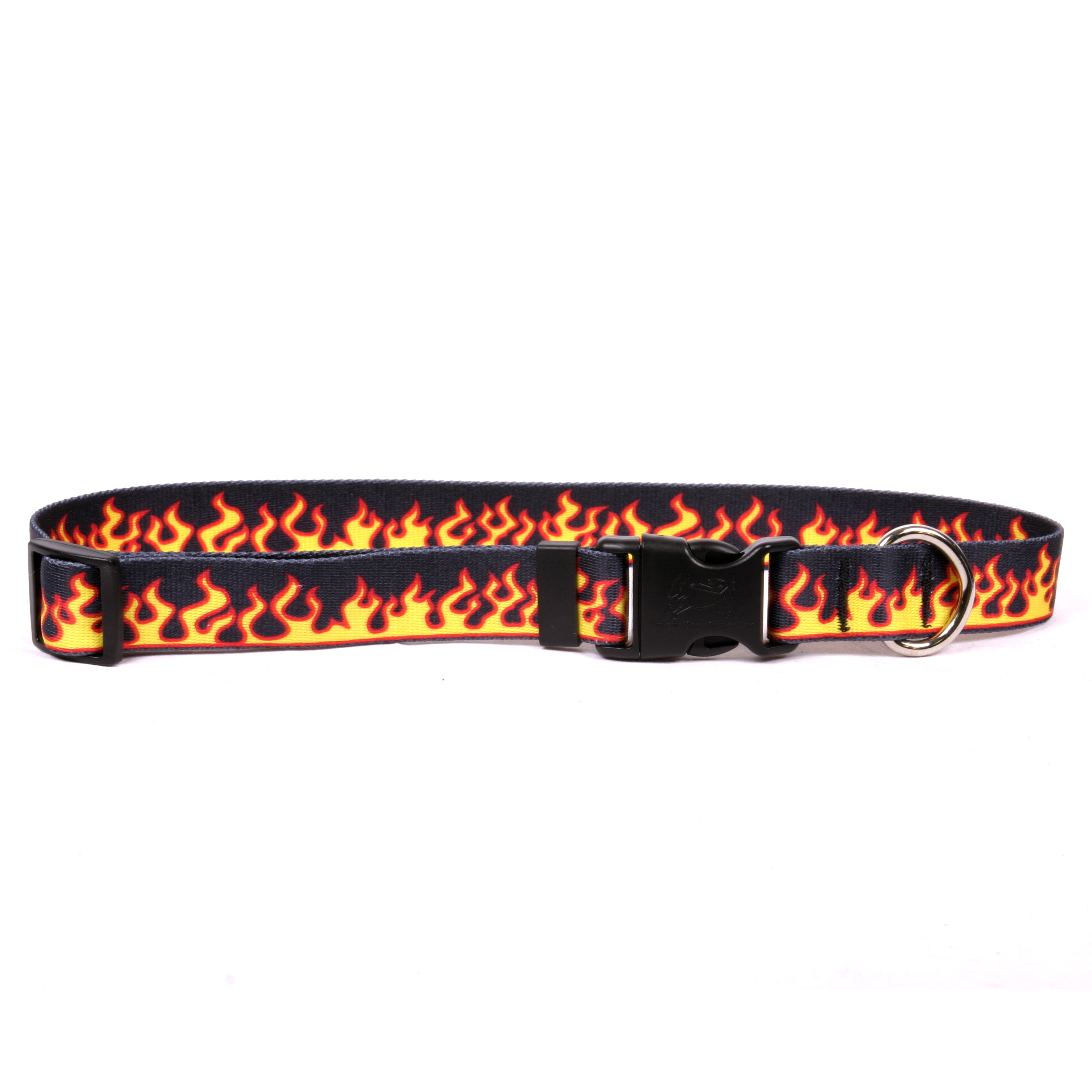 Red Flames Standard Collar