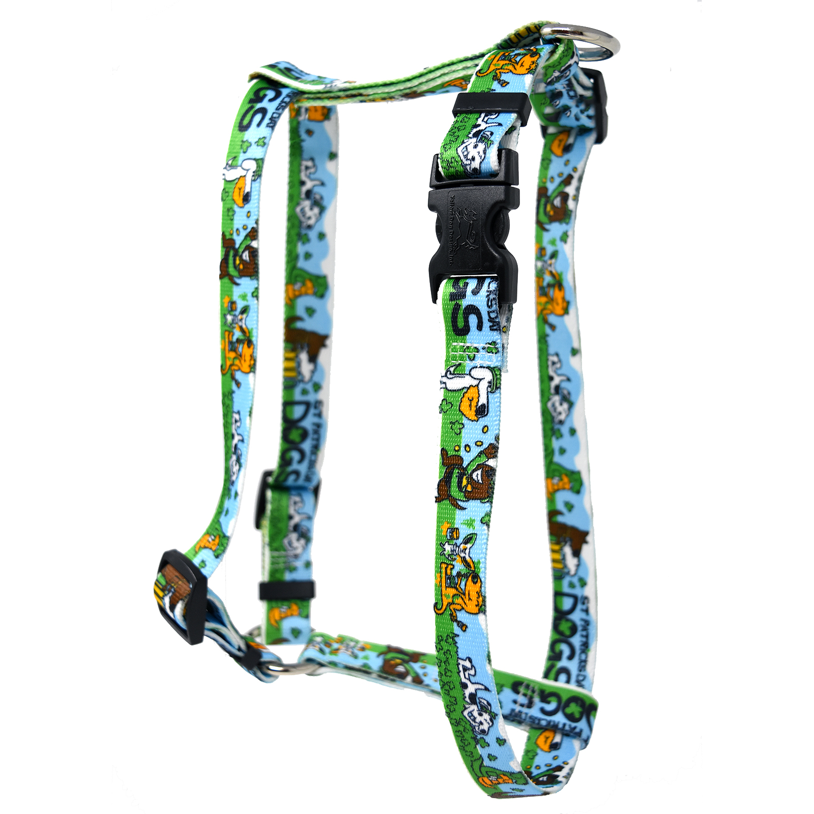 St Patricks Day Dogs Roman H Harness