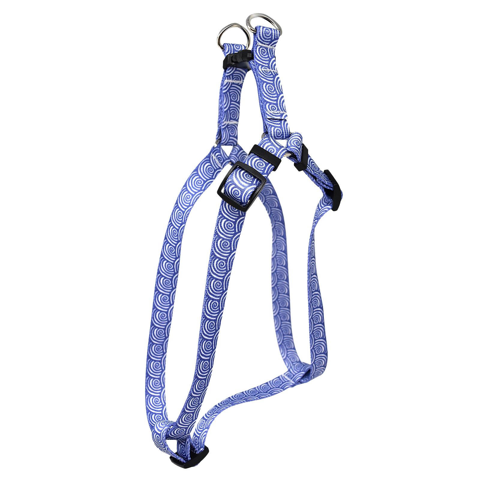 Surf Purple Step-In Harness