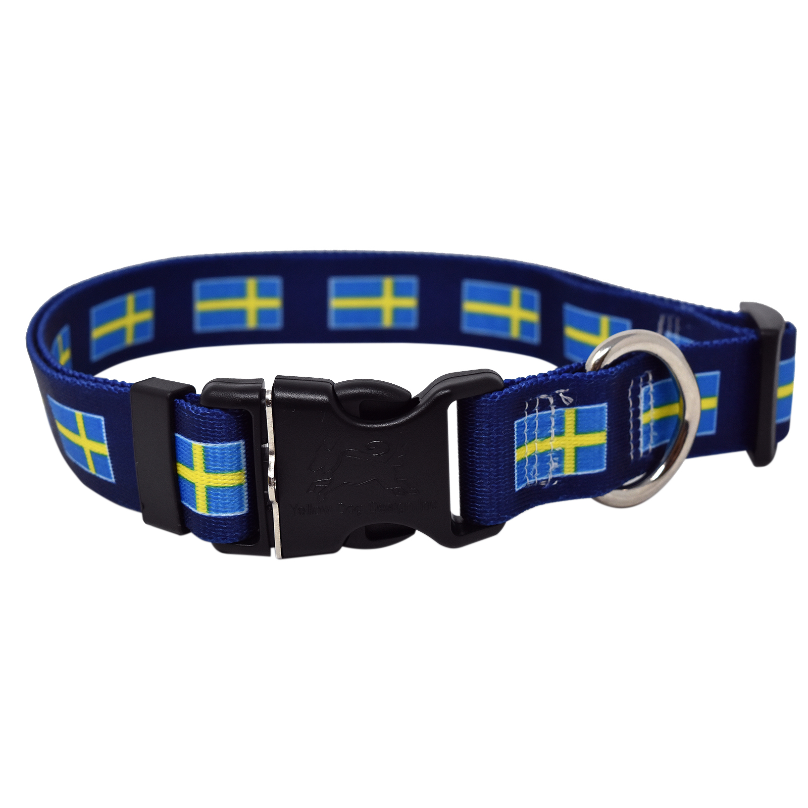 Swedish Flag  Standard Collar