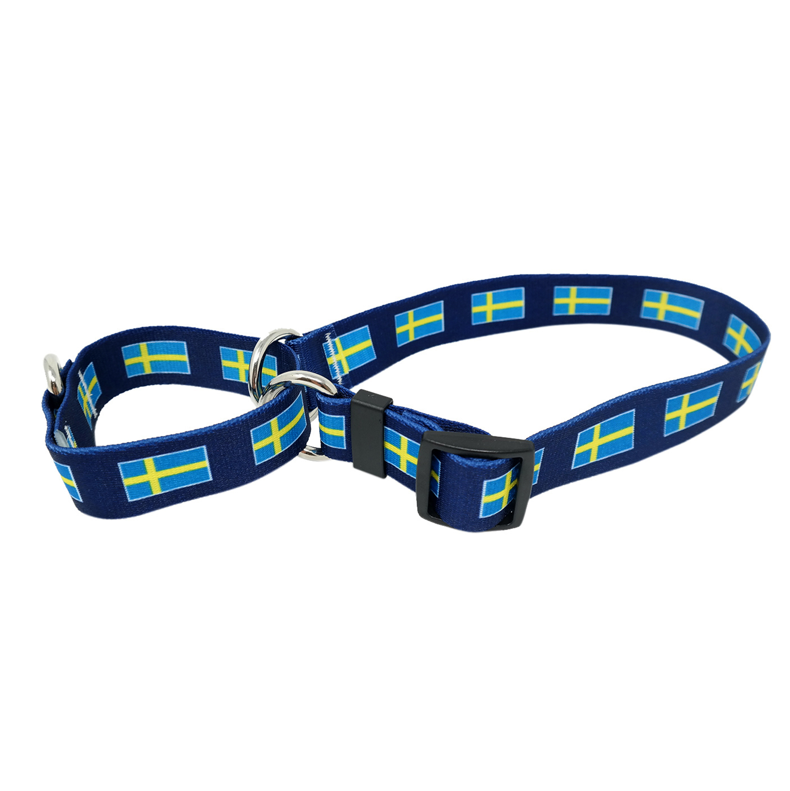 Swedish Flag  Martingale Collar