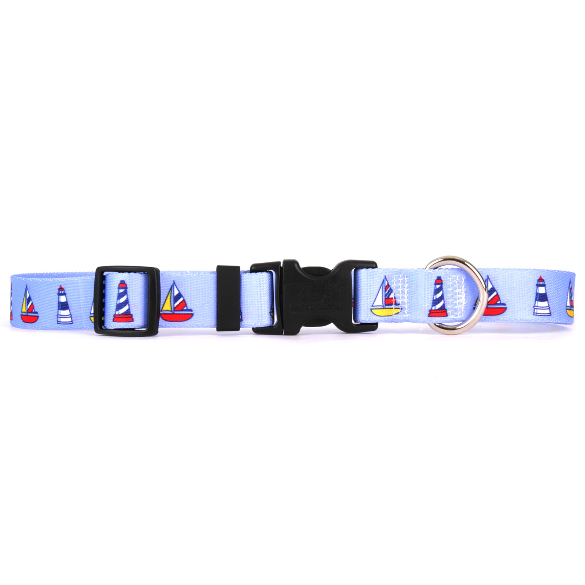 Sailboats and Lighthouses Standard Collar