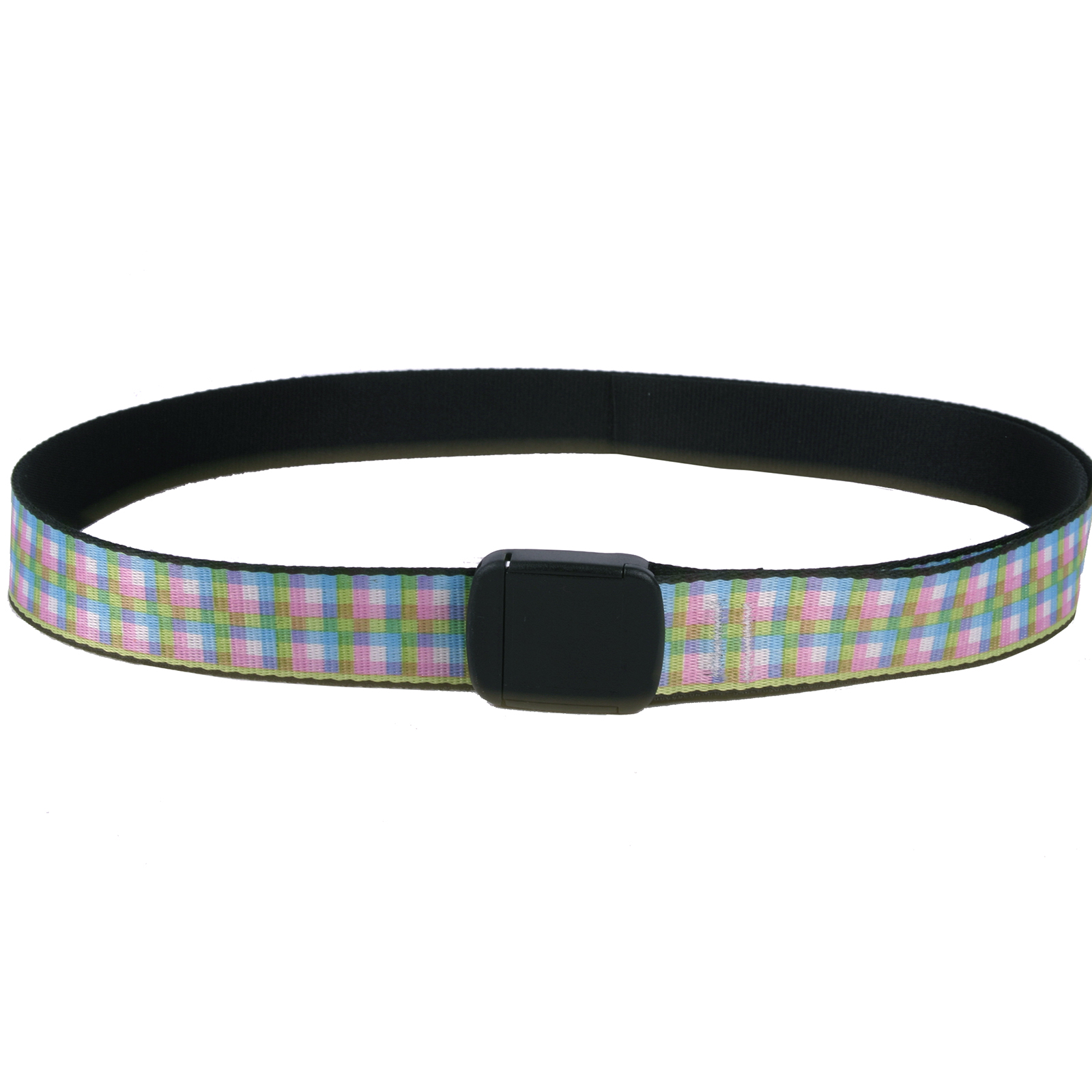 Southern Dawg: Gingham Red & Blue Fashion Belt
