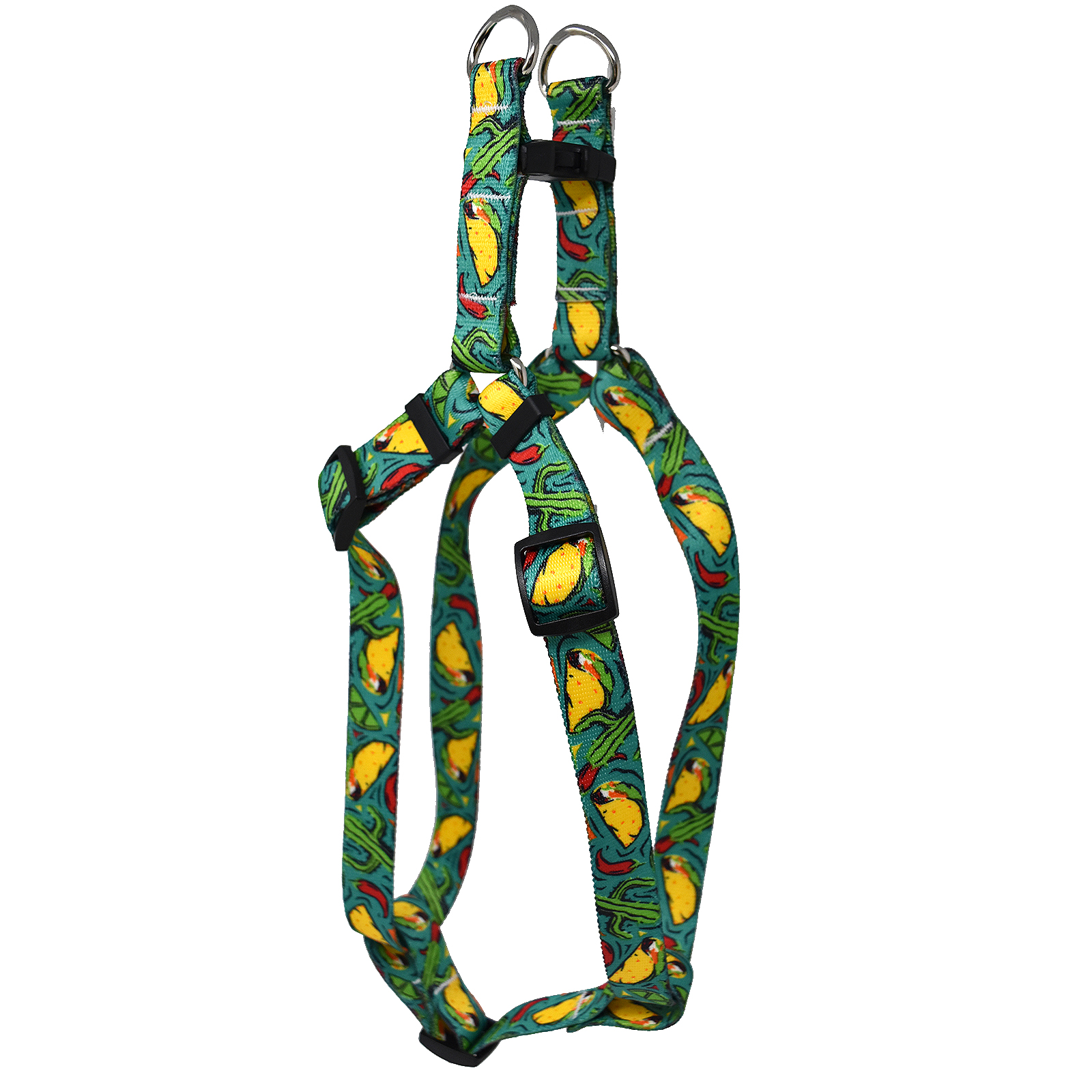 Taco Fiesta Teal  Step-In Harness