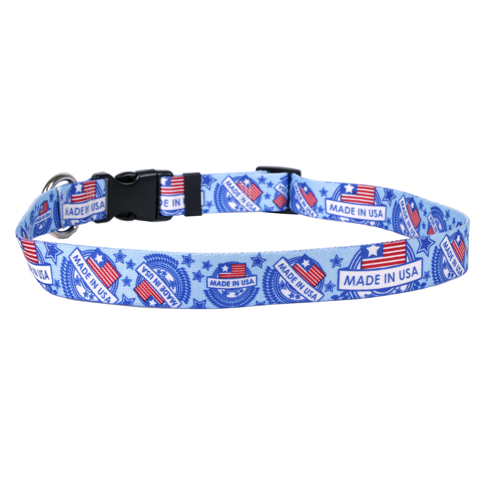 Made in USA Blue Standard Collar