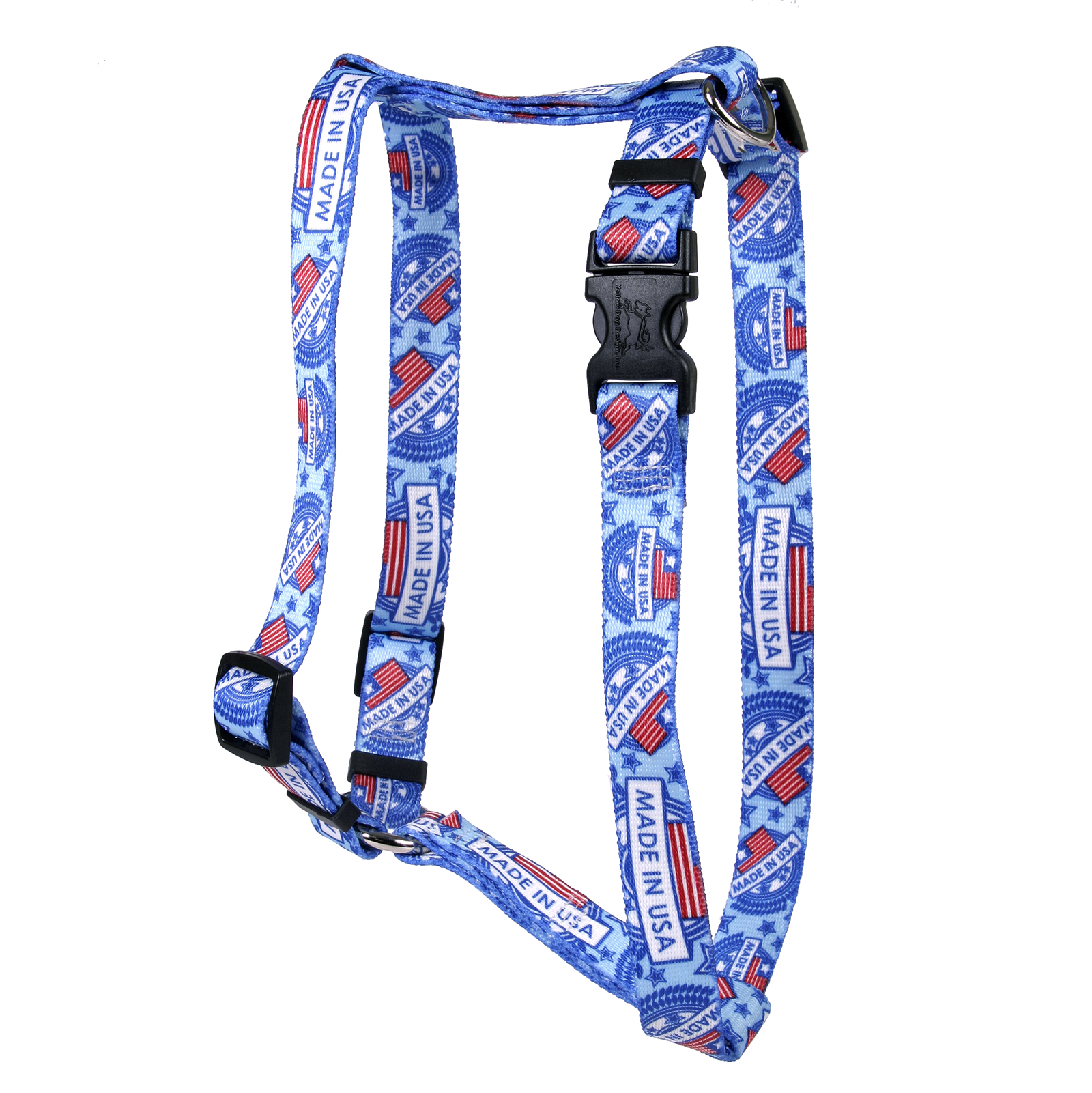 Made in USA Blue Roman H Harness