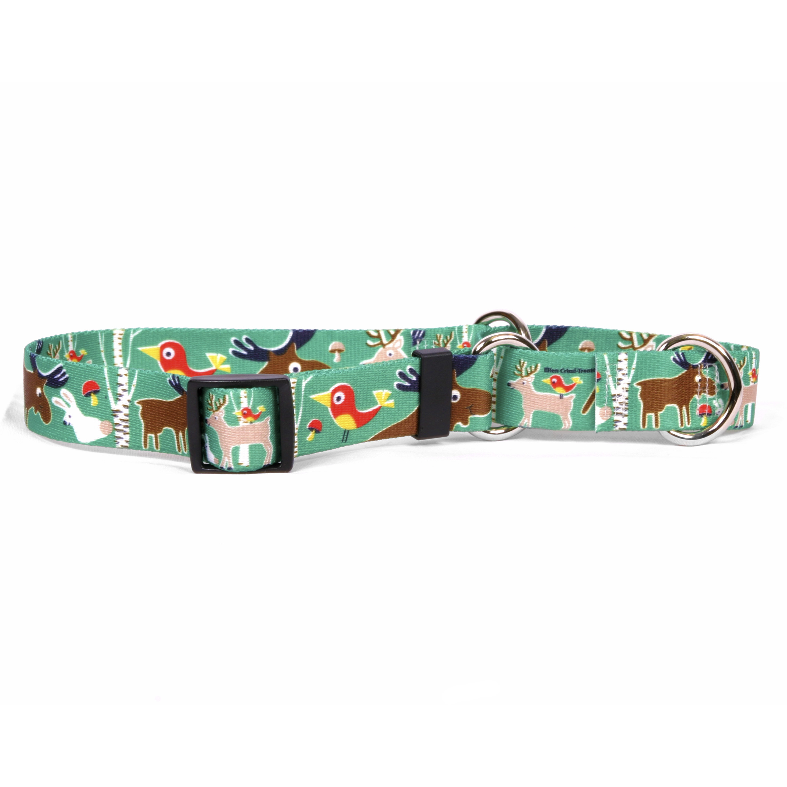 Woodland Friends Martingale Collar