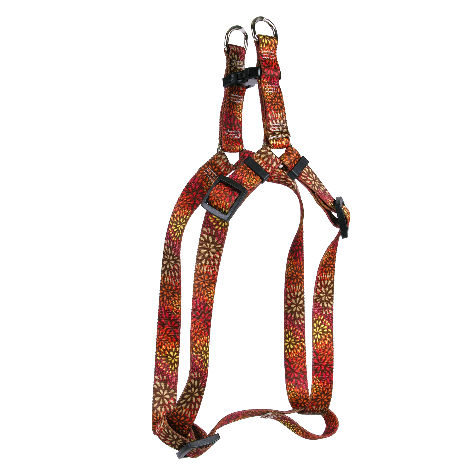 Flowerworks Red Step-In Harness