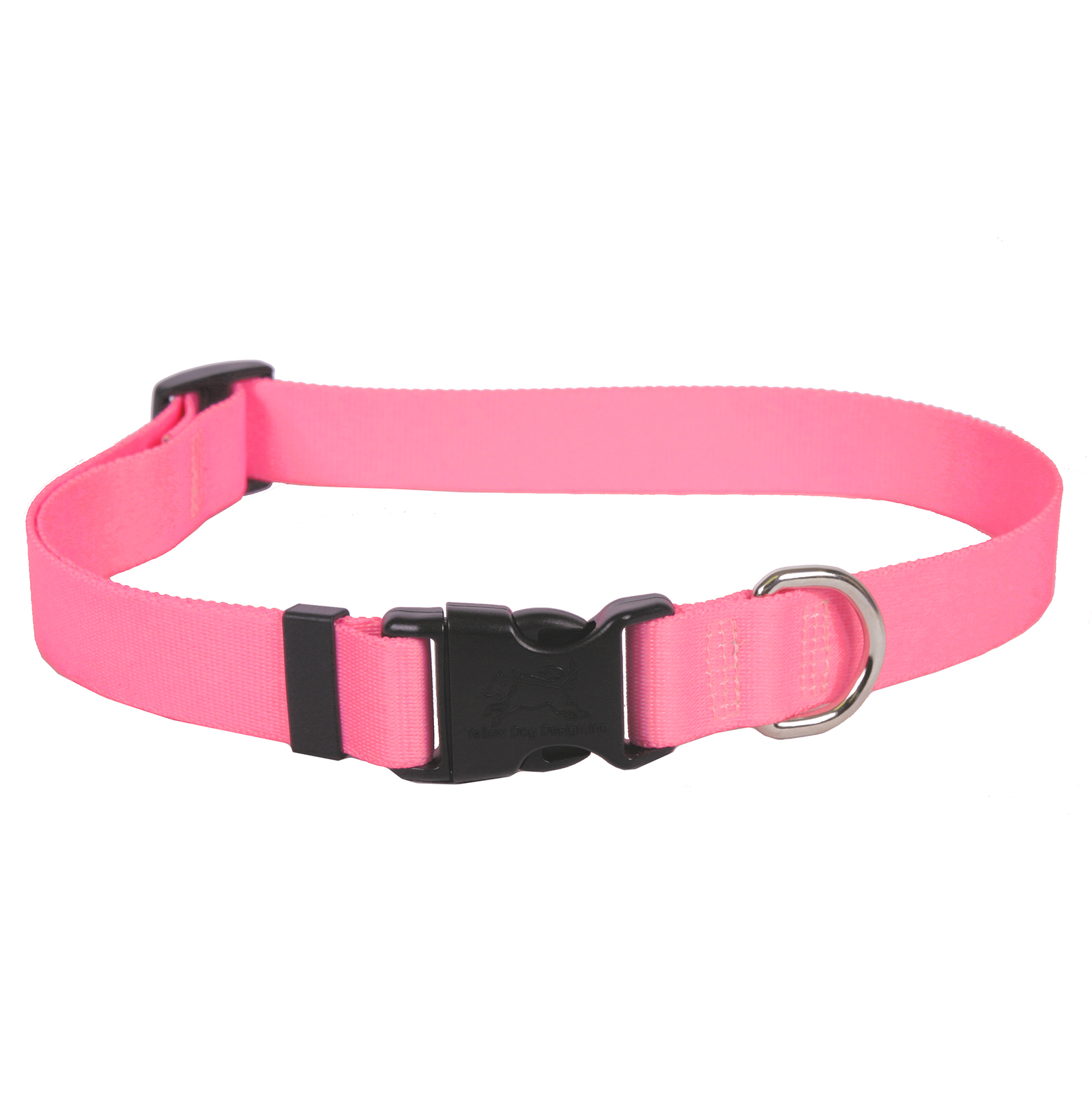 Light Pink Simple Solid Standard Collar