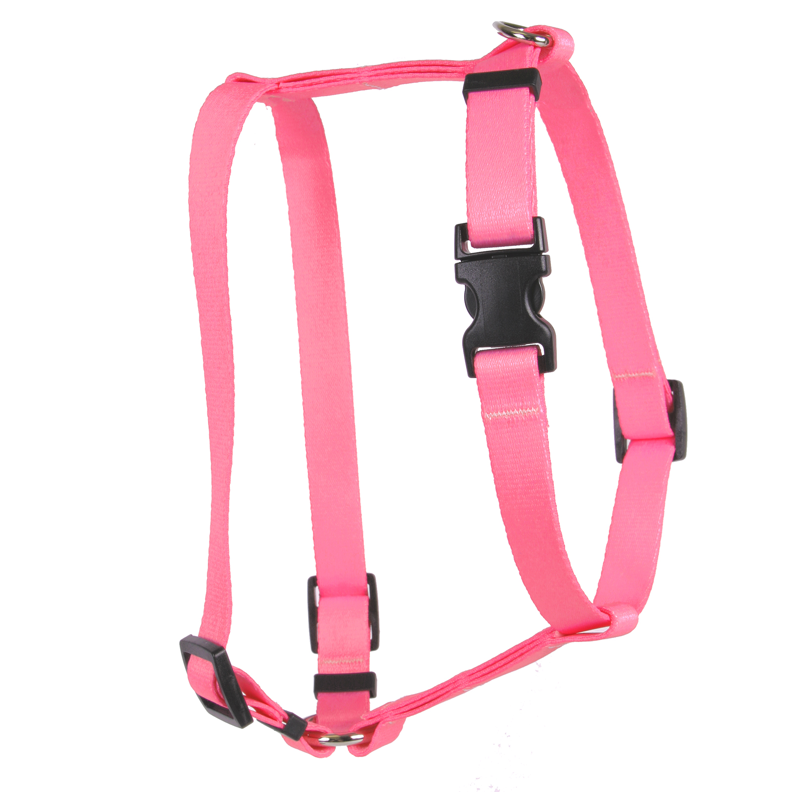Light Pink Simple Solid Roman H Harness