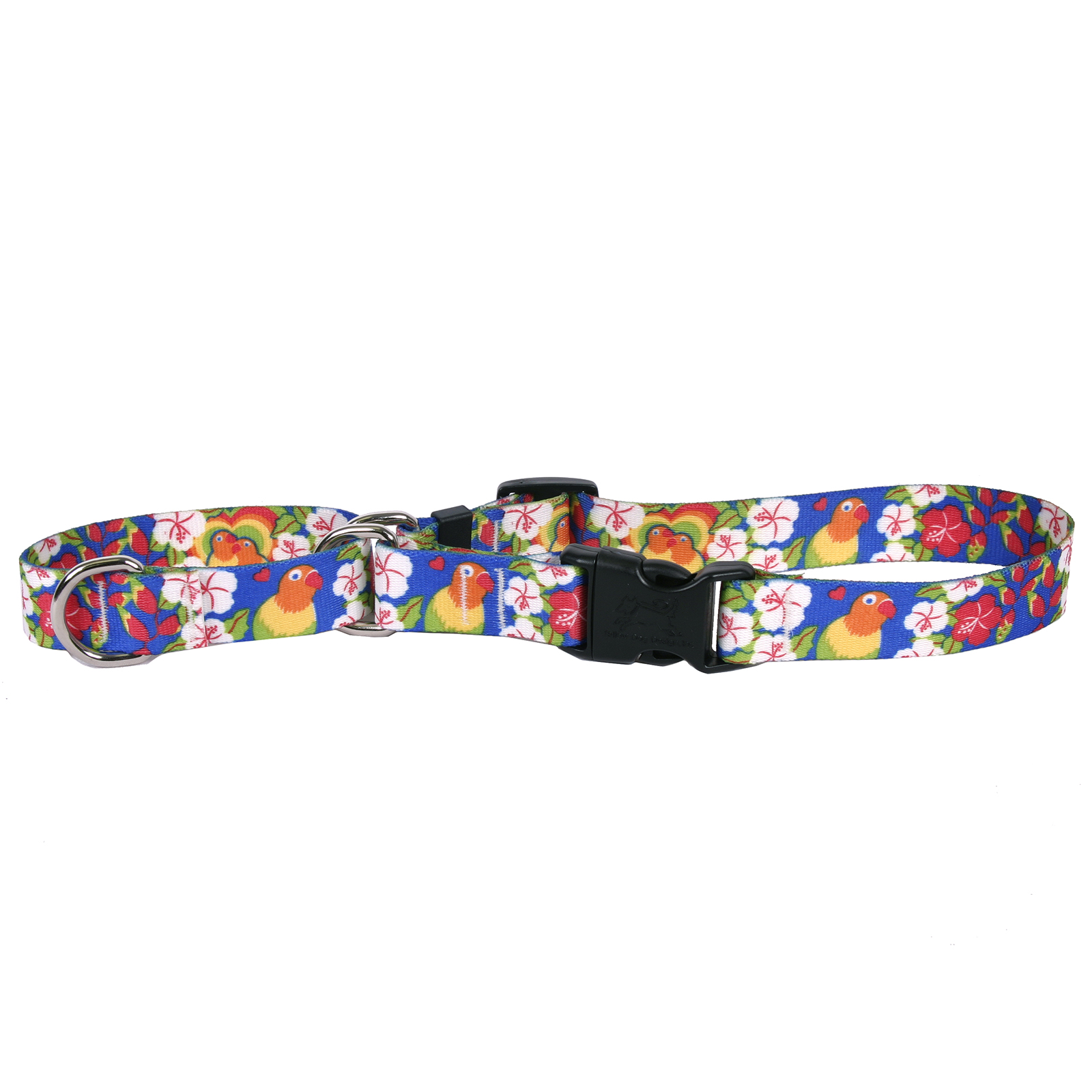 Lovebirds Martingale Collar