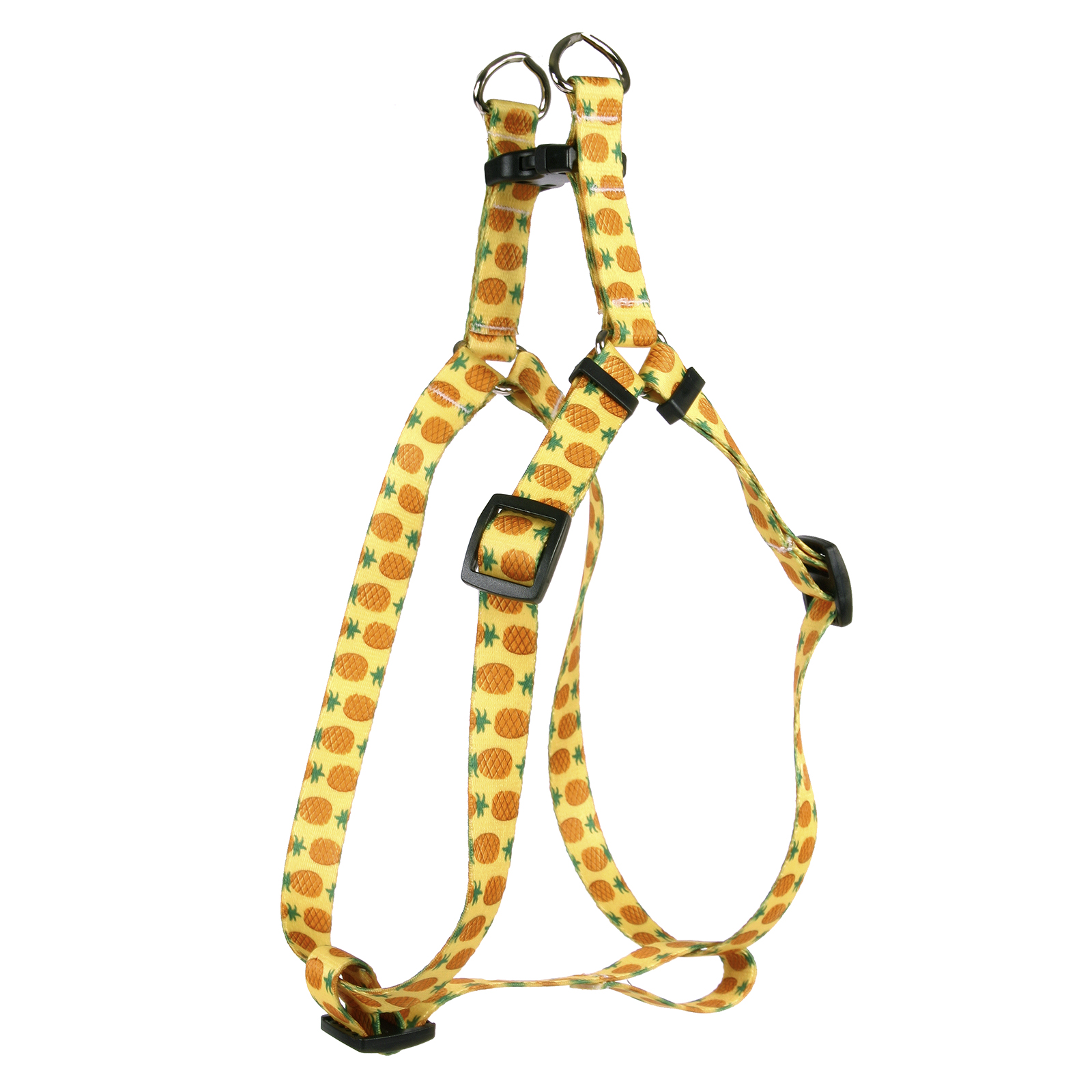 Pineapples Yellow Step-In Harness